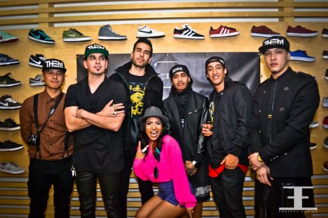 Some of THEMASSES team. [Left to right] Vino, Derick, Jose, Maca, Bruce, Kohn, and Hazzle.