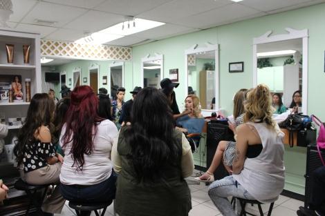 Jana's Make-Up Class